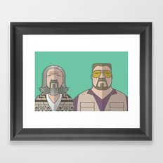 The Odd Couple Framed Art Print