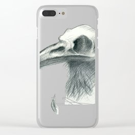 Nevermore Clear iPhone Case