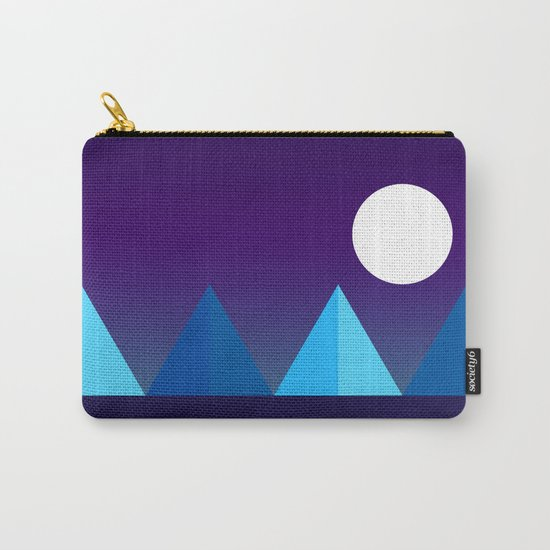 Pyramids in Moonlight Carry-All Pouch