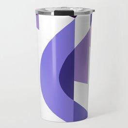 SUISSE - Art Deco Modern: PASSION FOR PURPLE Travel Mug