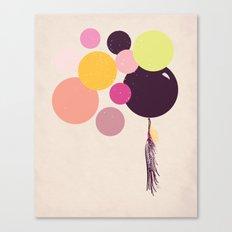 Balloons//One Canvas Print