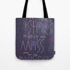 Haikuglyphics - Dear Someone Tote Bag