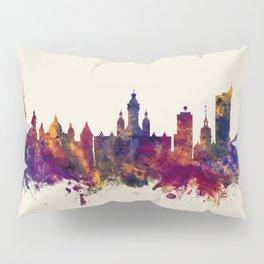 Leipzig Germany Skyline Pillow Sham