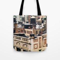 Midtown Water towers Tote Bag