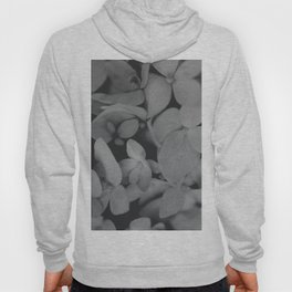 Black and White Hydrangeas Hoody