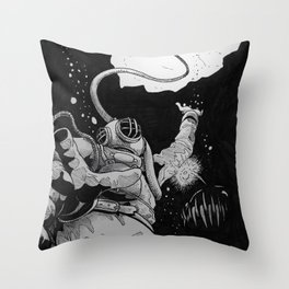 The Deep Throw Pillow