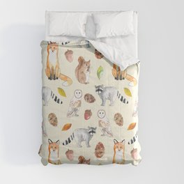Woodland Critters Comforters