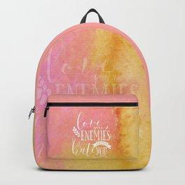 LUKE 6:27 (Love Your Enemies) Backpack