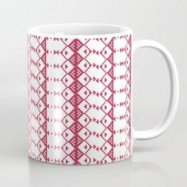 Criss Cross Jul Coffee Mug