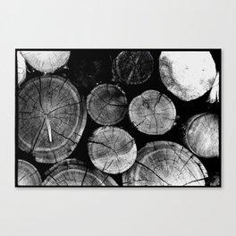 Wood Love Canvas Print