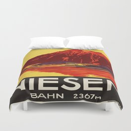 Vintage poster - Switzerland Duvet Cover