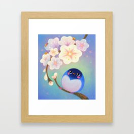 Flower viewing Framed Art Print