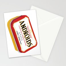 Androids Stationery Cards