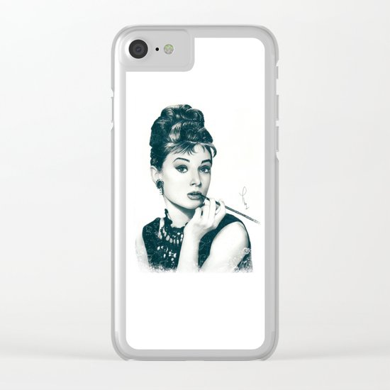 My Hepburn Clear iPhone Case