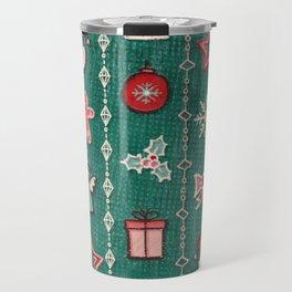 Christmas Decorations 3 Travel Mug
