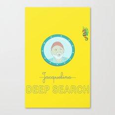Deep Search Canvas Print