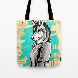 Teen Wolf Girl Tote Bag