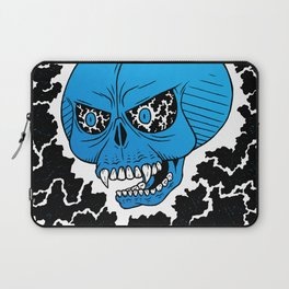 Lightning Skull Laptop Sleeve