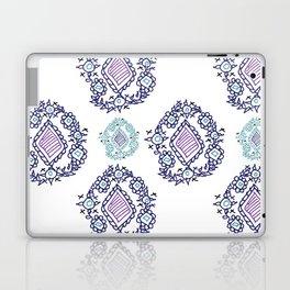 doodle ikat Laptop & iPad Skin