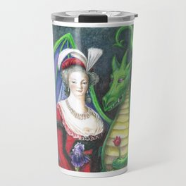 Marie Antoinette and the Dragon Travel Mug