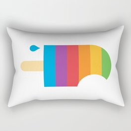 iPop (white) Rectangular Pillow