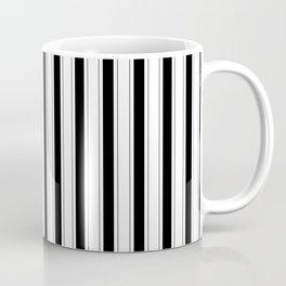 Black and white vertical stripes Coffee Mug