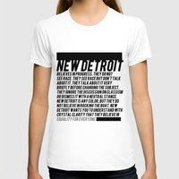 detroit T-shirts featuring New Detroit by ashurcollective
