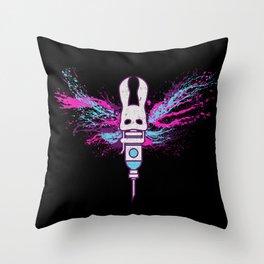 Little Moth Throw Pillow