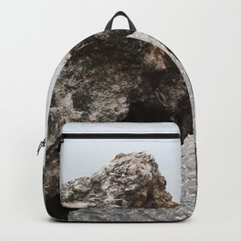 Two parts and actually one I Travel photography I Fine art Photo Print I Art Print Backpack