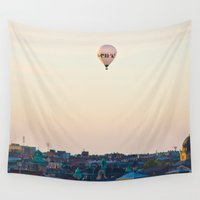 stockholm Wall Tapestries featuring Stockholm by DAMION LAWRENCE