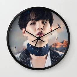 "Suga ""MIC Drop"" Wall Clock"