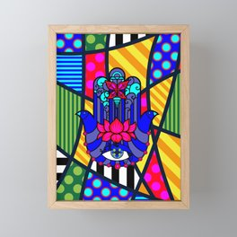 Lucky Hand of Fate Framed Mini Art Print