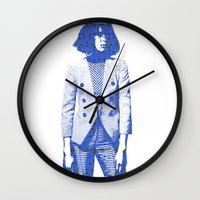 suit Wall Clocks featuring Suit by fashionistheonlycure