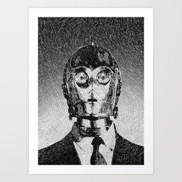 C3PO Art Print