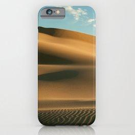 Gobi Desert Dunes Sand Hot Sandy Sand Dunes iPhone Case