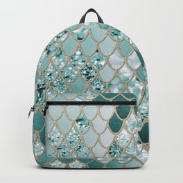 Mermaid Glitter Scales #3 #shiny #decor #art #society6 Backpack