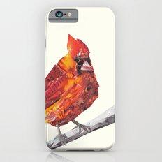 Red Cardinal Bird Collage iPhone 6s Slim Case