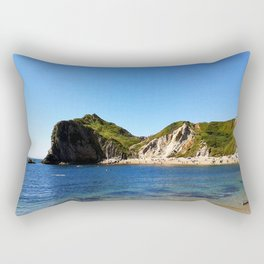 West Lulworth cove Rectangular Pillow