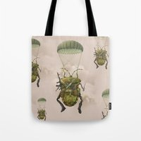 military Tote Bags featuring Military by Tanya_tk