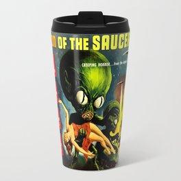 Horror Sci-Fi Movie Vintage Poster - invasion Travel Mug
