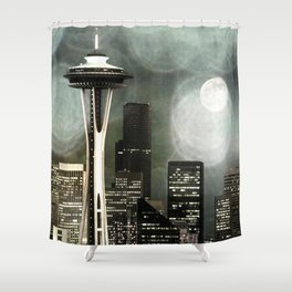 Fifty Shades of Grey Space Needle Shower Curtain