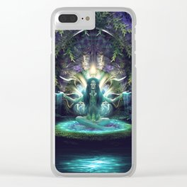 Convalescence - Visionary - Fractal - Manafold Art Clear iPhone Case