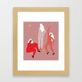 goddesses Framed Art Print