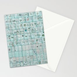 The Complete Voynich Manuscript - Blue Tint Stationery Cards