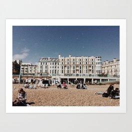 Brighton II Art Print