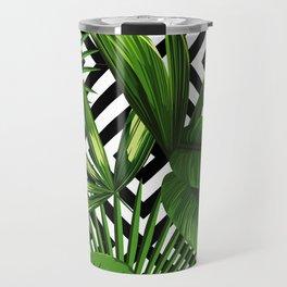 Tropical Jungle Pattern Travel Mug