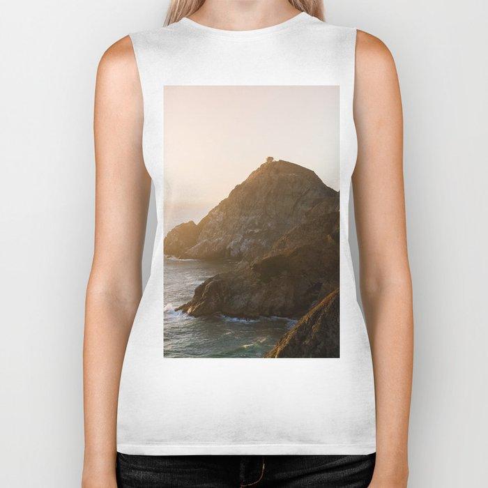ocean falaise 7 Biker Tank