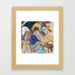 Improvisation No. 30 Cannons, Kandinsky Framed Art Print