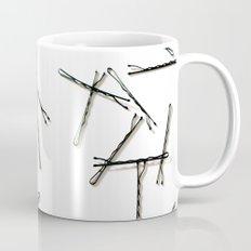 Bobby Pins Abstract Mug