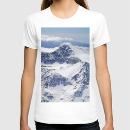 """""""Big mountains"""". Aerial photography T-shirt"""